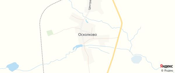 Карта села Осколково в Брянской области с улицами и номерами домов