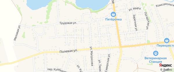Сельская улица на карте Стародуб с номерами домов
