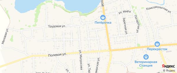 Улица Генерала Никитченко на карте Стародуб с номерами домов