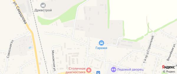 Красноармейская площадь на карте Стародуб с номерами домов
