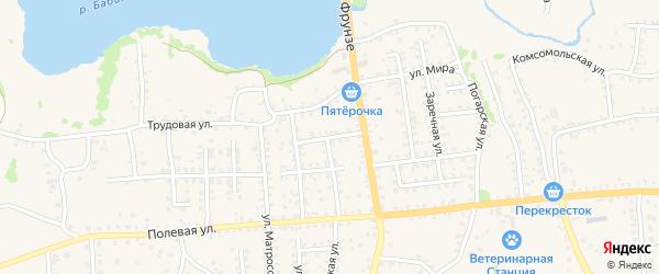 Проезд Генерала Никитченко на карте Стародуб с номерами домов