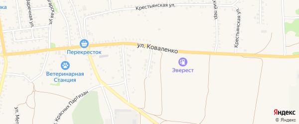 Новослободская улица на карте Стародуб с номерами домов