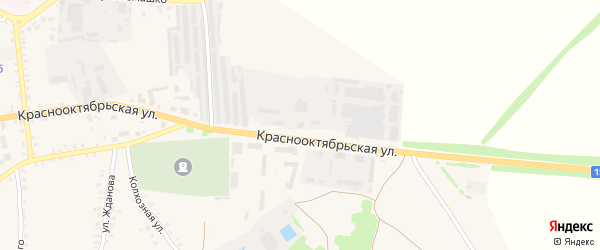 Территория ГСК 1 ул Краснооктябрьская 111 на карте Стародуб с номерами домов