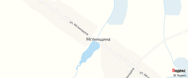 Улица Мглинщина на карте поселка Мглинщины с номерами домов