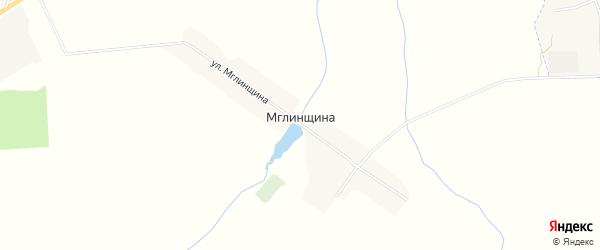Карта поселка Мглинщины в Брянской области с улицами и номерами домов