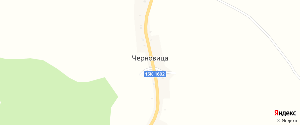 Советская улица на карте деревни Черновицы с номерами домов