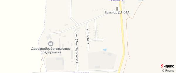 Улица Зыкина на карте Мглина с номерами домов