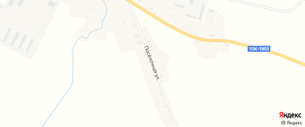 Поселочная улица на карте села Мереновки с номерами домов