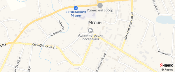 Хутор Поцепаев на карте Мглина с номерами домов