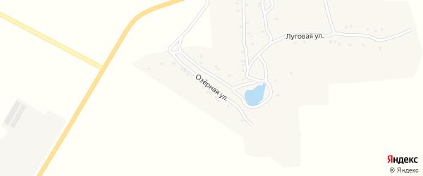 Озерная улица на карте села Степка с номерами домов
