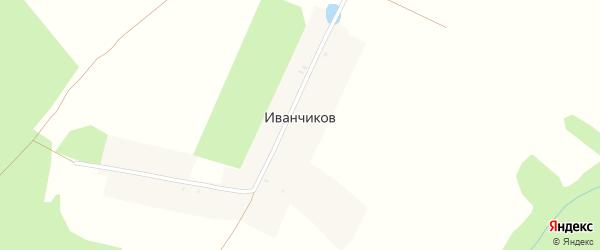 Луговая улица на карте поселка Иванчикова с номерами домов