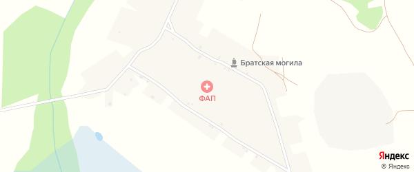 Центральная улица на карте села Азаровки с номерами домов
