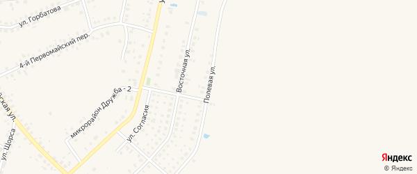 Полевая улица на карте поселка Дуброва с номерами домов