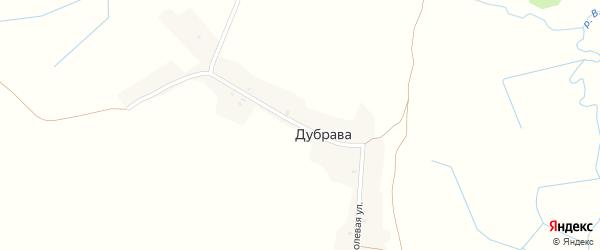 Полевая улица на карте поселка Дубравы с номерами домов