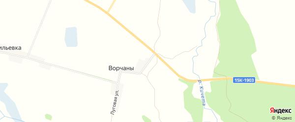 Карта поселка Ворчан в Брянской области с улицами и номерами домов