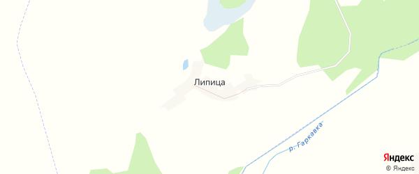 Карта поселка Липицы в Брянской области с улицами и номерами домов