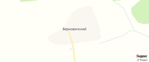 Лесная улица на карте Берновичского поселка с номерами домов