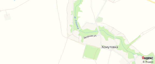 Карта села Мишковки в Брянской области с улицами и номерами домов