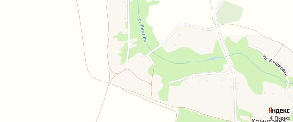 Школьный переулок на карте села Мишковки с номерами домов