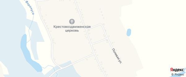 Комсомольская улица на карте села Курчичи с номерами домов