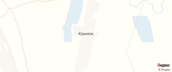 Садовая улица на карте поселка Крымка с номерами домов