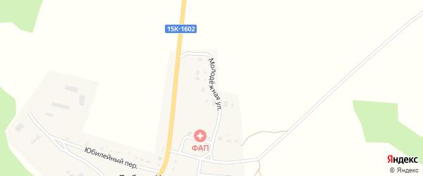 Молодежная улица на карте деревни Добраи Корны с номерами домов