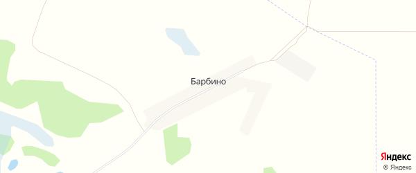 Карта поселка Барбино в Брянской области с улицами и номерами домов