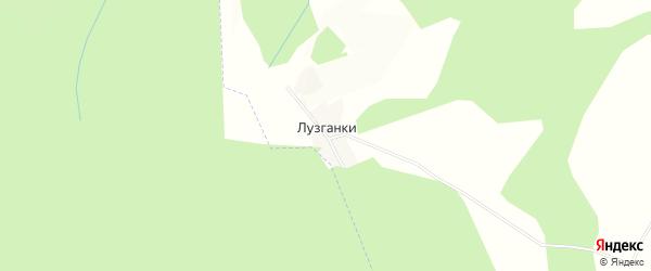 Карта поселка Лузганки в Брянской области с улицами и номерами домов