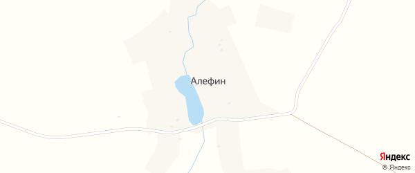 Нагорная улица на карте села Алефина с номерами домов