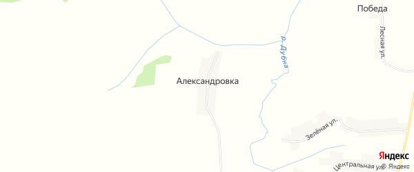 Карта поселка Александровки в Брянской области с улицами и номерами домов