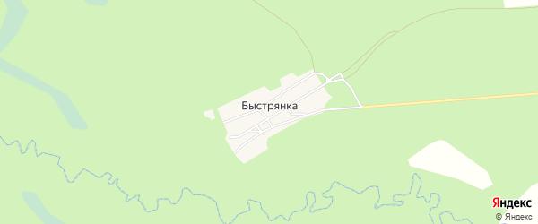 Карта поселка Быстрянки в Брянской области с улицами и номерами домов