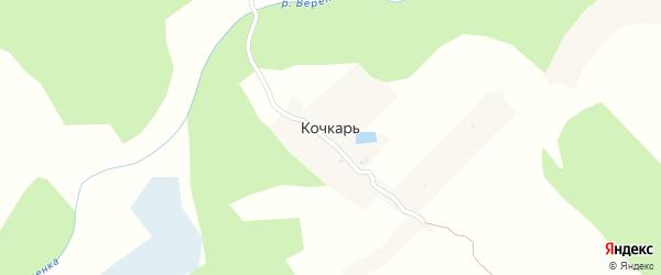 Луговая улица на карте поселка Кочкаря с номерами домов