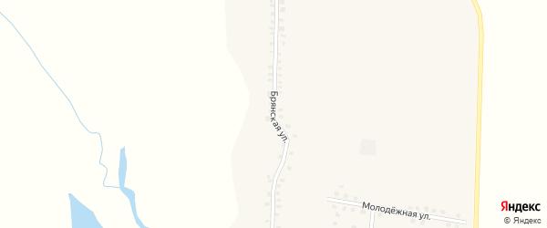 Брянская улица на карте деревни Новые Ивайтенки с номерами домов