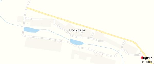 Центральная улица на карте деревни Полховки с номерами домов
