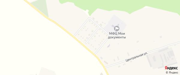 Квартальная улица на карте села Кистера с номерами домов