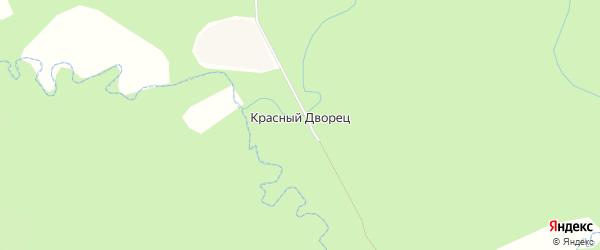 Карта деревни Красного Дворца в Брянской области с улицами и номерами домов