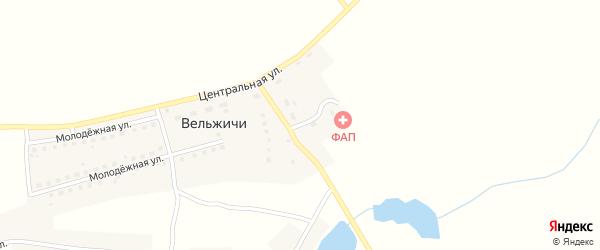 Пролетарская улица на карте села Вельжичи с номерами домов