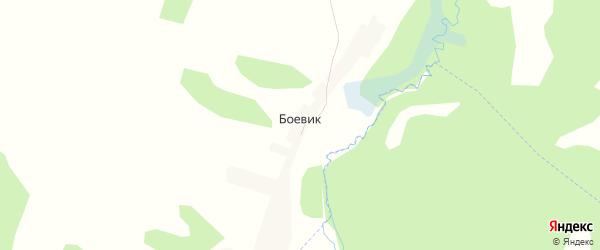 Карта поселка Боевика в Брянской области с улицами и номерами домов