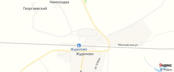 Карта поселка Немолодвы в Брянской области с улицами и номерами домов
