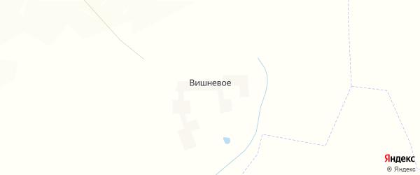 Карта деревни Вишневого в Брянской области с улицами и номерами домов