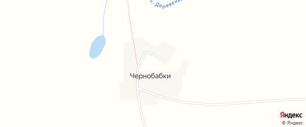 Коммунистическая улица на карте деревни Чернобабок с номерами домов