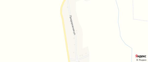 Придорожная улица на карте села Лобки с номерами домов