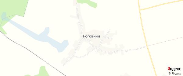 Карта хутора Роговичи в Брянской области с улицами и номерами домов
