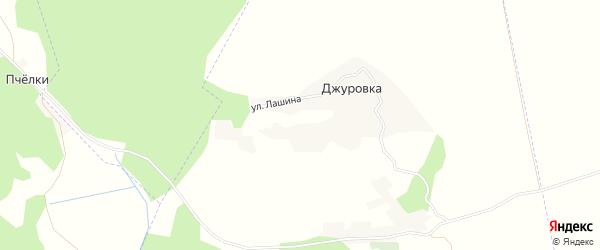 Карта хутора Джуровка в Брянской области с улицами и номерами домов