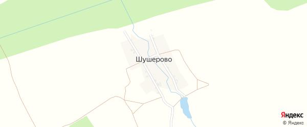 Полевая улица на карте деревни Шушерово с номерами домов