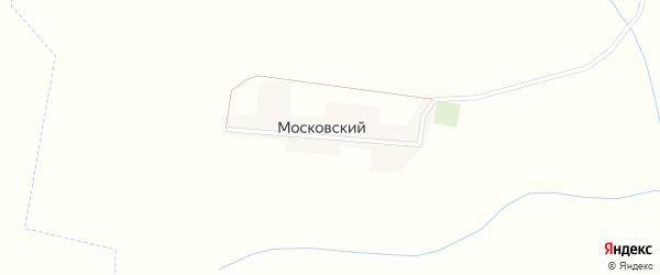 Московская улица на карте Московского поселка с номерами домов