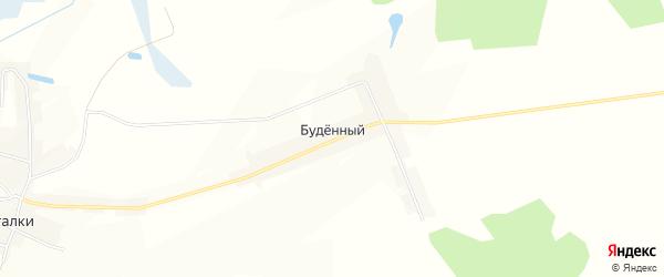 Карта Буденного поселка в Брянской области с улицами и номерами домов