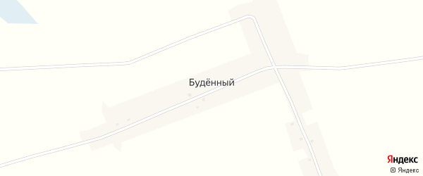 Улица Буденного на карте Буденного поселка с номерами домов