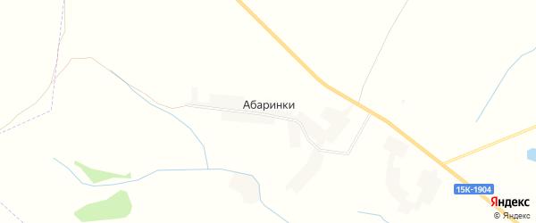 Карта деревни Абаринки в Брянской области с улицами и номерами домов