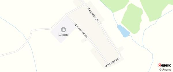 Школьная улица на карте деревни Кожемяки с номерами домов